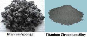 buy Titanium sponge and Titanium zirconium alloy