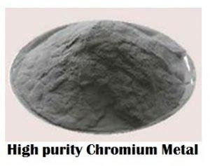 buy high purity chromium metal